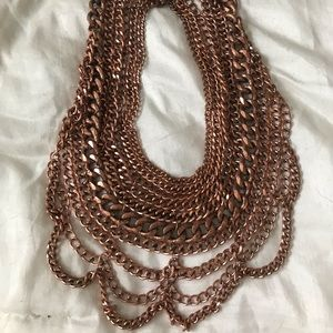 BaubleBar Bib Chain Necklace